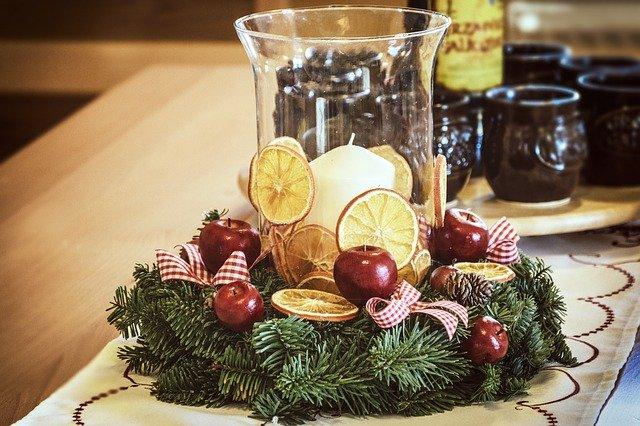 Ozdoby świąteczne: stroik