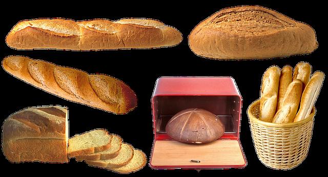Eleganckie chlebaki: skrzynie