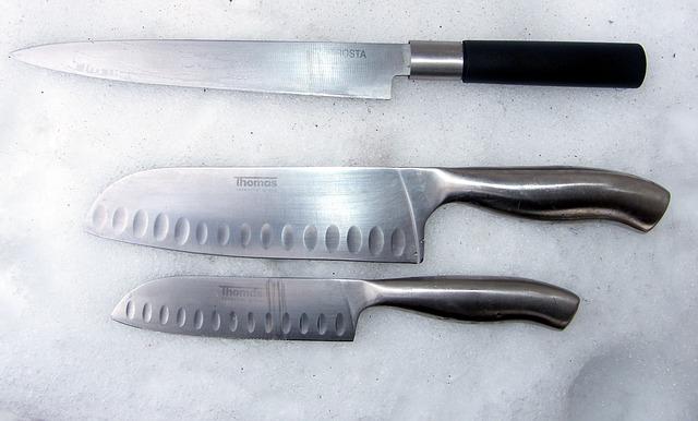 Noże kuchenne: twardość