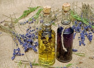 Olejek lawendowy aromaterapia