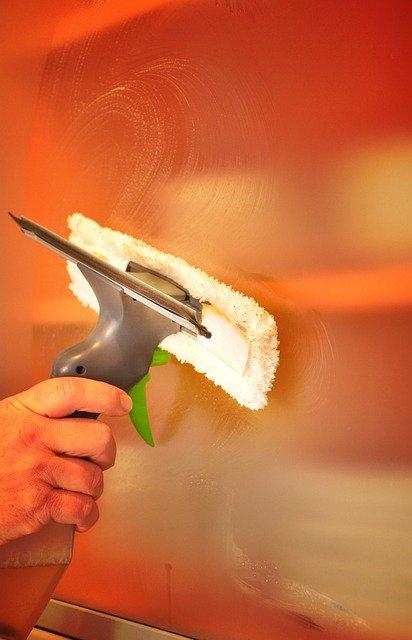myjki do okien ze ścierką